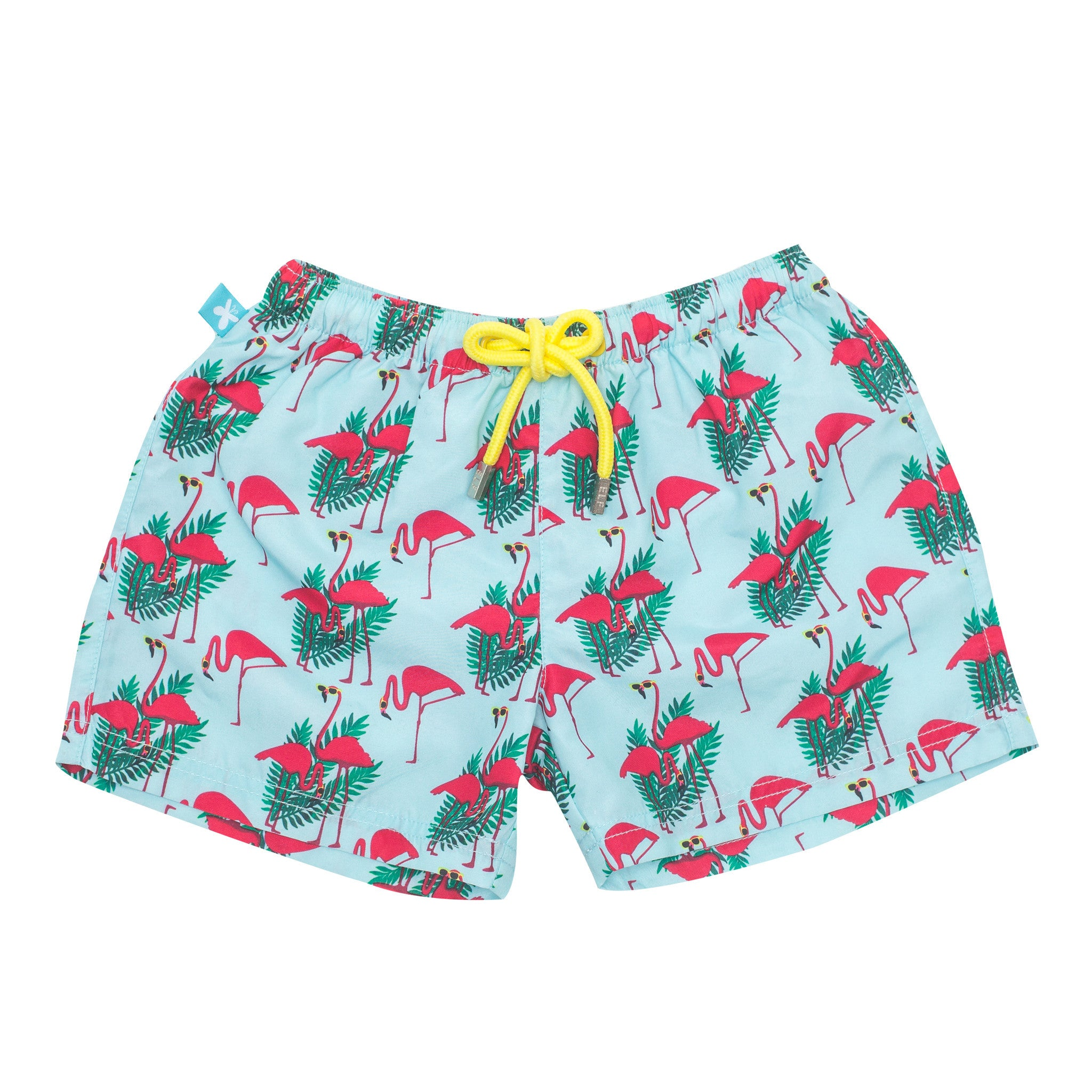 another chance detailing excellent quality Short de bain Anti-UV - Adulte - Flamingo – Elly la ...
