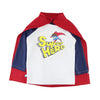 tshirt maillot super hero anti uv avec cape anti uv