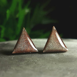 Antique Silver wood studs