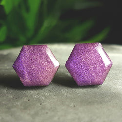 Purple wood studs