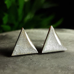 Bright Silver wood studs