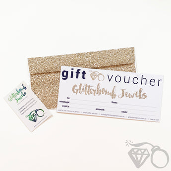 Glitterbomb Jewels Gift Voucher