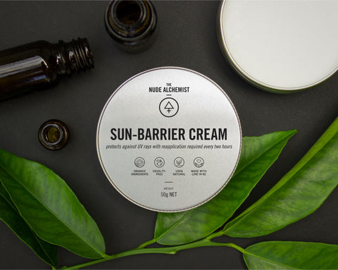 Sun-barrier cream