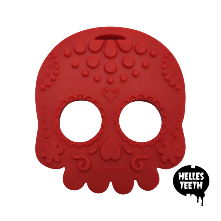Load image into Gallery viewer, Sugar Skull teething toy