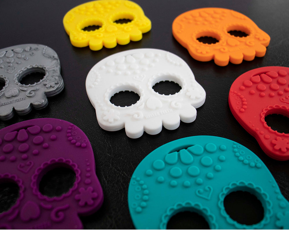 Sugar Skull teething toy
