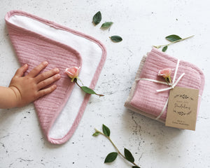 Organic Muslin Washcloth sets