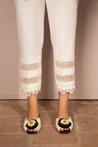 SCALLOP FLARE WHITE (EV-180289)