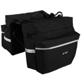 BV Bicycle Panniers with Adjustable Hooks and Carrying Handle