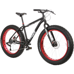 Framed Minnesota 1 Fat Bike Black-Red Mens