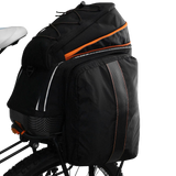 Ibera PakRak Clip-On Quick-Release Commuter Bicycle Bag