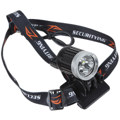 SecurityIng Waterproof Bicycle Headlight LED Lighting Headlamp