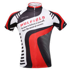 WOLFBIKE Men Cycling Jersey Bicycle Bike Cycle Breathable Shirts Tops