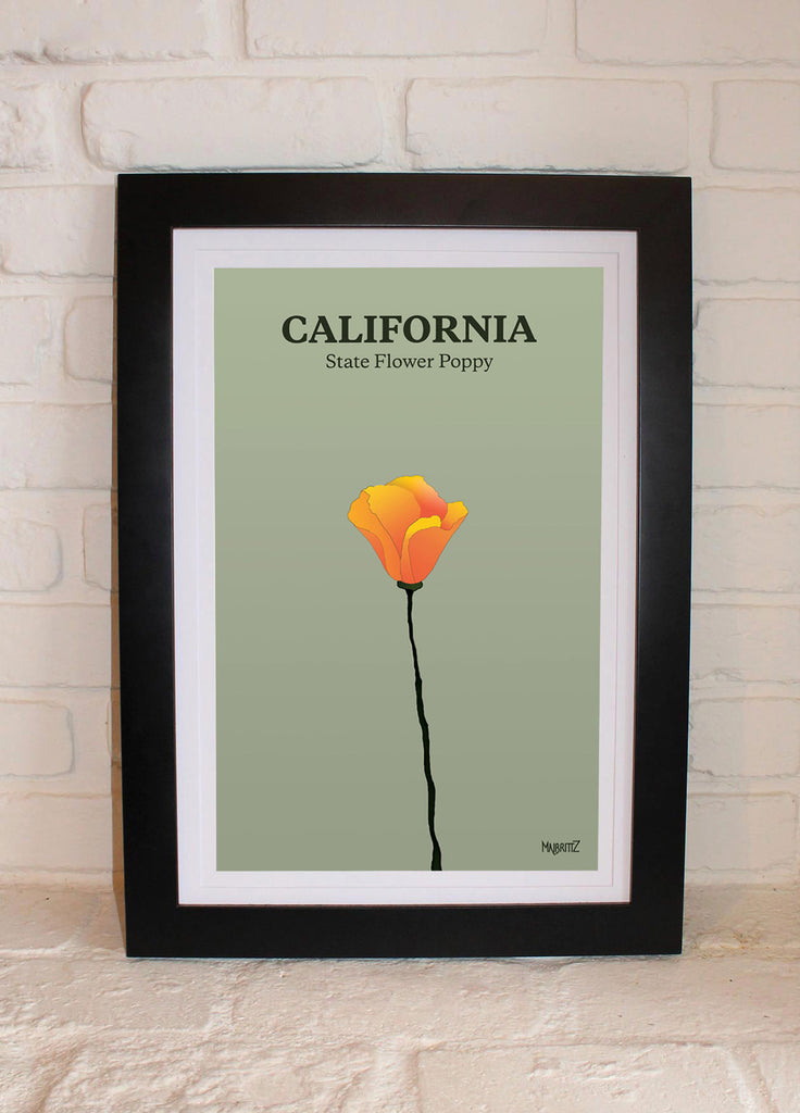 California State Flower Poppy