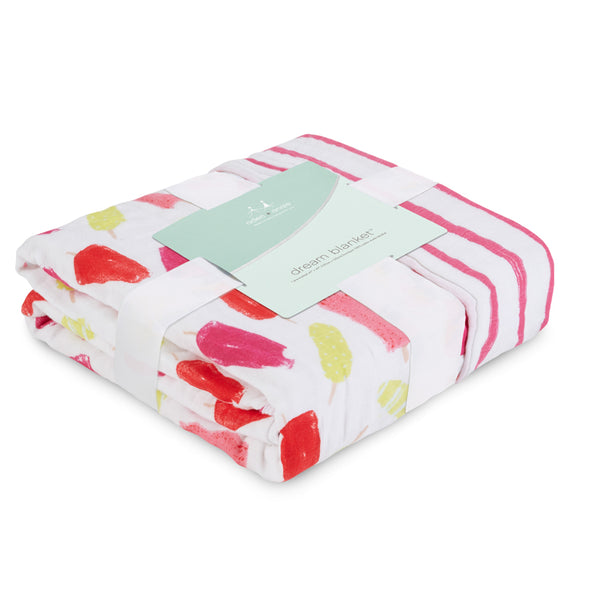 Aden and Anais Classic Dream Blanket Popsicles