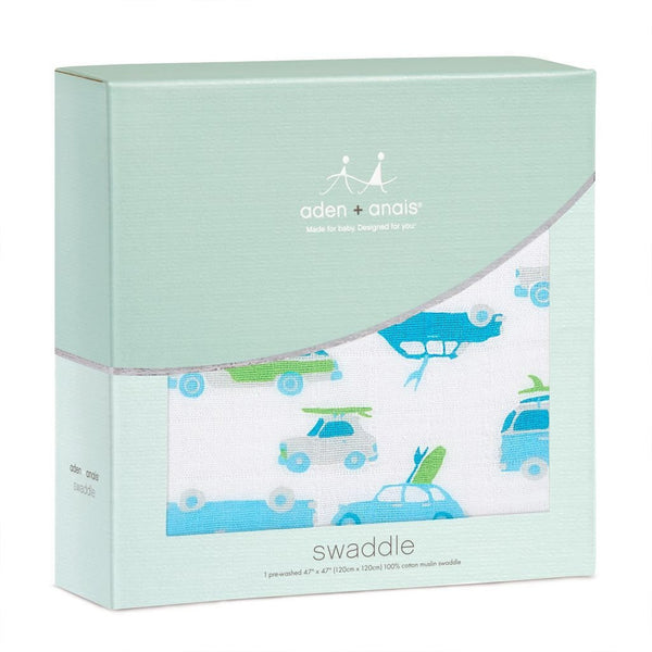 Aden and Anais Classic Swaddle Chasing Waves