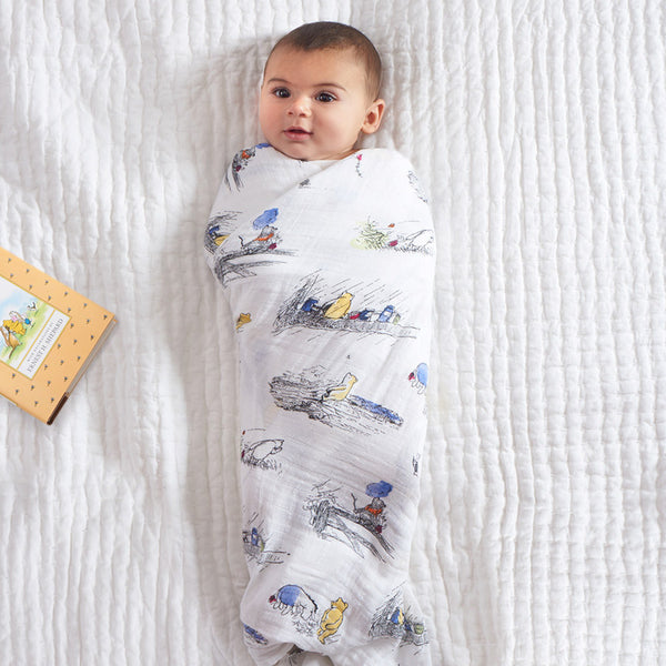 Aden and Anais Classic Swaddles Winnie The Pooh