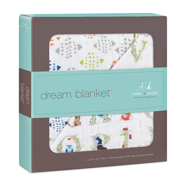 Aden and Anais Classic Dream Blanket Paper Tales