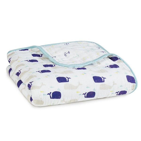 Aden and Anais Classic Dream Blanket High Seas