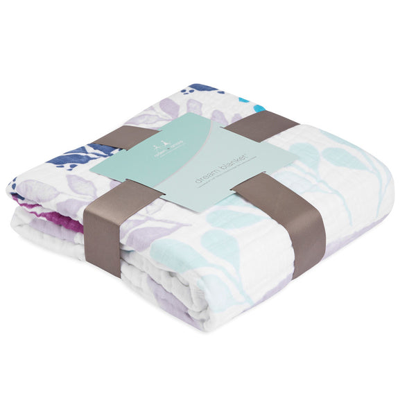 Aden and Anais Classic Dream Blanket Thistle - Owlish