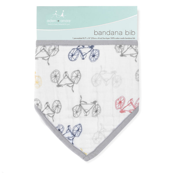 Aden and Anais Bandana Bib Leader of the Pack - Cycles