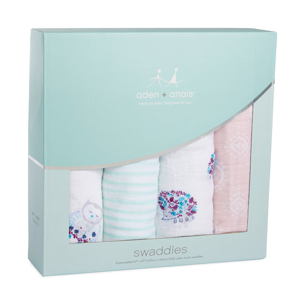 Aden and Anais Classic Swaddles Thistle