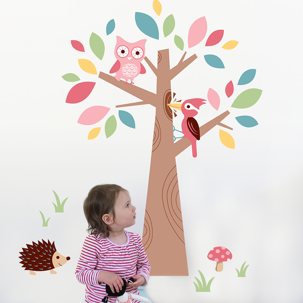 Speckled House Forest Friends Wall Decal