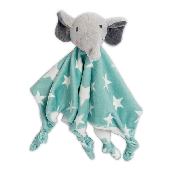 The Little Linen Co Lovie/Comforter - Elephant Star