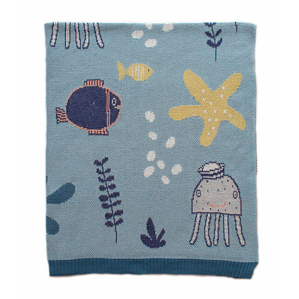 Indus Under The Sea Boy Blanket