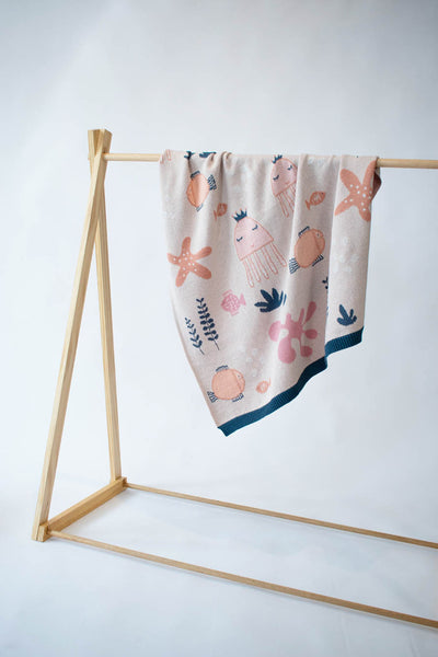 Indus Under The Sea Girl Blanket