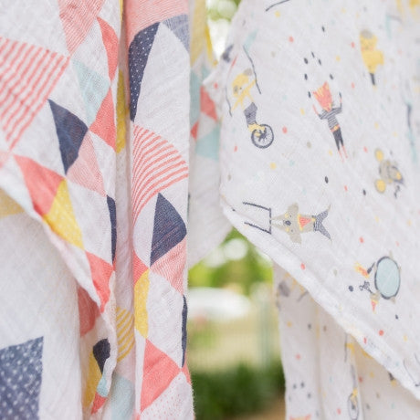 Weegoamigo Baby Muslin - Big Top 4Pk