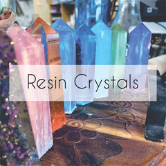 Resin Crystal Points