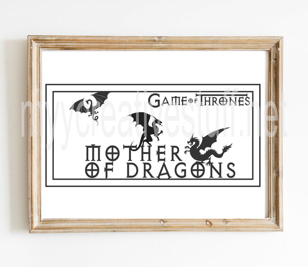 GoT - Mother of Dragons design