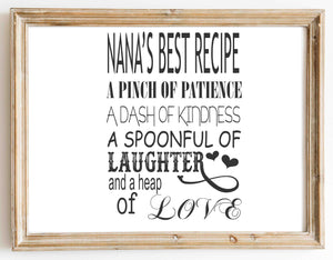 Nanas Best Recipe 1 design