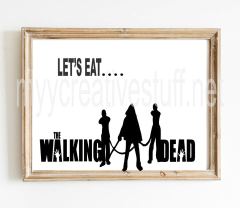 Let's Eat...The Walking Dead Design