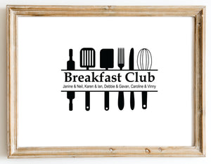 Breakfast Club design