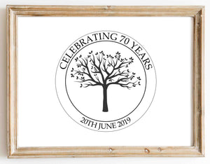 Celebrating Years design