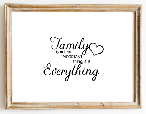 Family is not Important Design