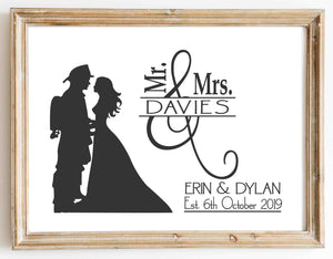 Fire Fighters Wedding design