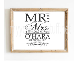 Mr and Mrs OHara Design