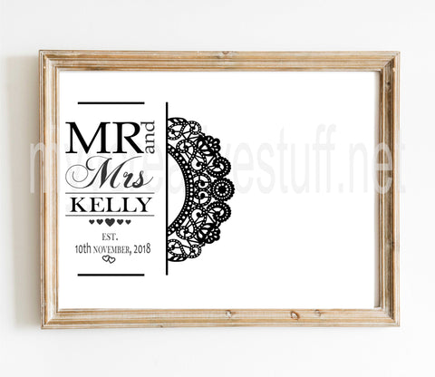 Mr & Mrs Doiley Design
