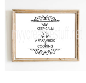 Keep Calm - Paramedic Design