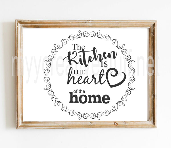 The Kitchen is the Heart - Design