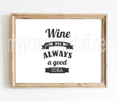 WINE is always Design