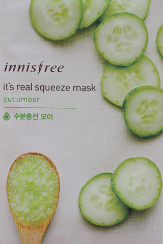 Innisfree Cucumber Squeeze Mask