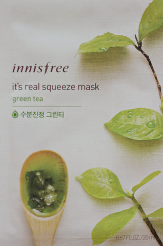 Innisfree Green Tea Squeeze Mask