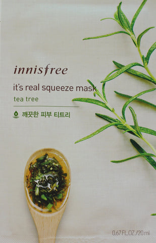 Innisfree Tea Tree Squeeze Mask