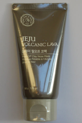 Jeju Volcanic Lava Peel Off Clay Mask
