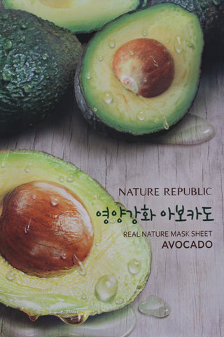 Nature Republic Avocado Sheet Mask