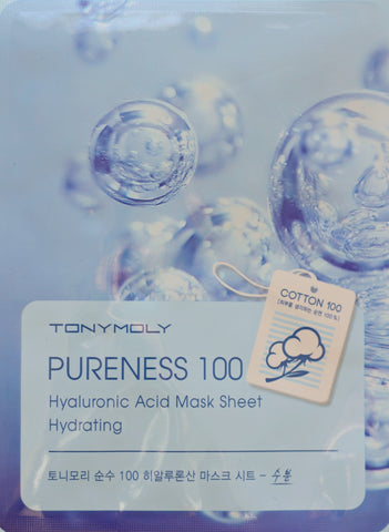 Tony Moly Pureness 100 Hyaluronic Acid Mask