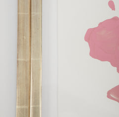 Iridescent Oil Paint and Wax on Paper by James Nares